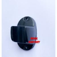 Gantungan shower HITAM-Hanger Bracket braket holder shower black