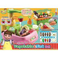 Mainan Masak Masakan Anak Kongsuni Vegetables and Sink