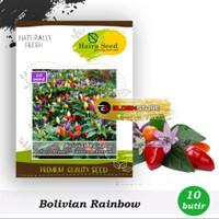 Benih bibit cabe pelangi bolivian rainbow (haira seed)