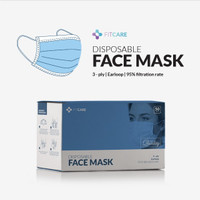 Masker 3ply Fitcare isi 50pcs