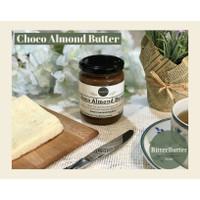 Natural Choco Almond Butter 225gr BitterButter, Selai Kacang Almond Co