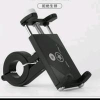 Bracket Holder HP Stang Sepeda - Handphone Holder Handlebar Sepeda