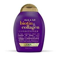 ogx biotin collagen think full conditioner 385ml 385 ml