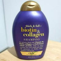 ogx biotin collagen think full shampoo penebal rambut 385ml 385 ml