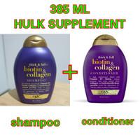 ogx biotin collagen think full shampoo conditioner 1paket 385ml 385 ml