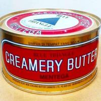 Mentega segitiga biru / blue triangle / creamery butter 340 Gr