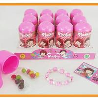 MooBoo Surprise Egg Capsule For Girls (Pink) / mainan goodie bag murah