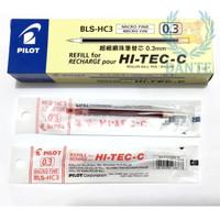 Refill Pilot Hi-Tec 0,3 dan 0,4 / Isi Pulpen Pilot Hitec