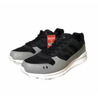 Sepatu Casual Piero Jogger Go Black Grey P20466 ORIGINAL BNIB