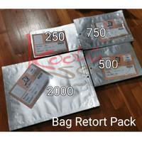 BAG Retort Pack Kemasan Tahan Panas Alufoil Food Grade Packaging