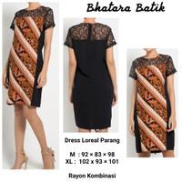 Bhatara Batik Loreal Batik DRESS /Dress Premium Murah