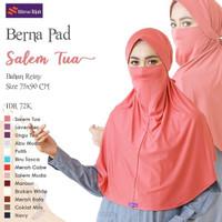 Hijab instan masker ori nibras - jilbab bergo polos instan cadar