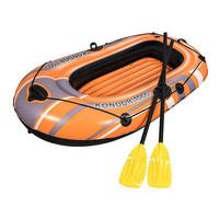 Perahu karet Sama Dayung 2 batang untuk dipantai kolam renang