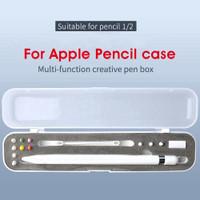 Apple Pencil Box Case Protection Cover Semi-Transparent Pencil 1/2