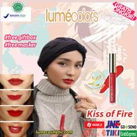 LUMECOLORS VELVET LIPCOAT - KISS OF FIRE