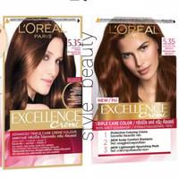 Pewarna rambut Loreal Excellence Creme 5.35 Chocolate Brown