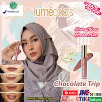 LUMECOLORS VELVET LIPCOAT - CHOCOLATE TRIP