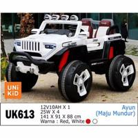 Unikid UK613 Jeep Futuristik Mainan Mobil Aki Anak SNI