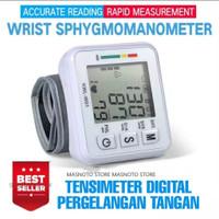 Blood Pressure Alat Ukur Tekanan Darah Elektronik Gelang Tensi Meter