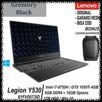 Laptop Lenovo Legion Y530-15ICH 15.6 Inch Core i7-8750H RAM 8GB 16GB