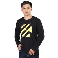 Kaos T-Shirt Lengan Panjang Kuzatura Pria KZR 753