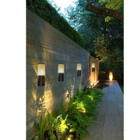 lampu dinding minimalis kaca tabung kecil outdoor infoor