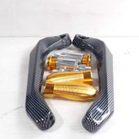 proguard carbon handguard carbon motor universal jalu cnc import