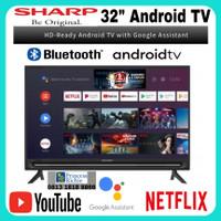 Sharp android smart tv 32 inch 2T-C32BG1i