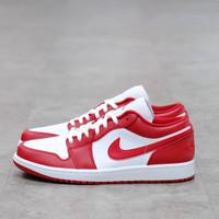 Nike Air Jordan 1 Low Gym Red 100% Authentic