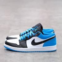 Nike Air Jordan 1 Low Laser Blue 100% Authentic