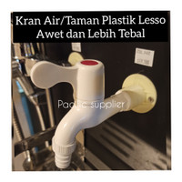 """Kran Air Tembok/Kran Air Taman/Kran Air Plastik Pvc 1/2"""""""