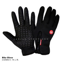 SARUNG TANGAN MOTOR / BIKE GLOVES TOUCH SCREEN B FOREST - L