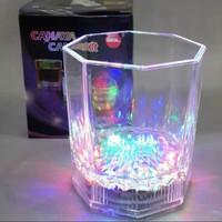 Gelas Air Lampu LED LY 1219 (auto sensor air)