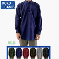 Setelan Koko Gamis Pria Baju Celana Sirwal Paket Baju Gamis