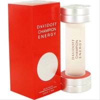Parfum Original Pria Davidoff Champion Energy Men EDT 90ml ORI NONBOX