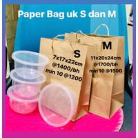 Paper Bag Polos uk M 11x20x24cm