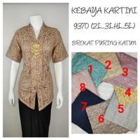 9290 Indah Kebaya Modern Encim Kutubaru Bali Murah Batik Bordir Brokat