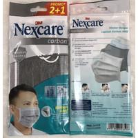 masker nexcare 3m carbon 4ply