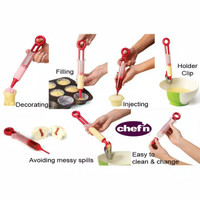 Chef'n Pastry Pen Cupcake Baking and Decorating Tool