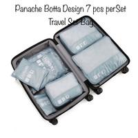 PANACHE 7 pcs per set Waterproof Travel Set Botta Design Tas Travel