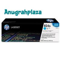 TONER PRINTER HP LASERJET 824A CYAN-CB381A ORIGINAL 100%