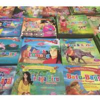 Paket 20 Pcs Buku Cerita Seri Rakyat Nusantara full colour bilingual