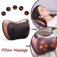 Bantal Pijat Shiatsu Pillow Massager Portable Inframerah Kursi Rumah