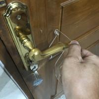 Keychain Corona Finger Contact Touch Tool Alat Sentuh Anti Corona