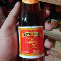 kecap ikan royal gold 200ml