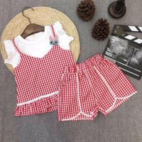 Baju Setelan Anak Perempuan Import ROSSIE