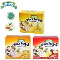 HEINZ FARLEY'S SNACK BISKUIT BAYI RASA APEL 120 GR