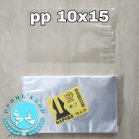 kantong plastik pp bening uk 10x15