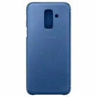 Samsung Galaxy A6 Plus A6+ Original Flip Cover Wallet Buku Tutup