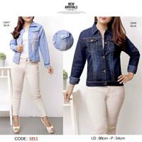 jaket jeans wanita xxl